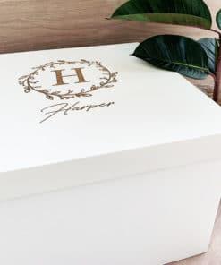 Customised Keepsake boxes